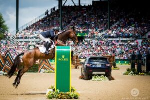 Who's a Star and Courtney at Rolex Kentucky (Photo: Mike McNally)