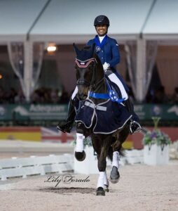 Sundayboy winning his last competition in Wellington. CDIO U-25 nations cup. Photo: Lily Forado