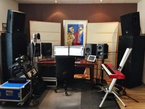 Music-Motions Studio in the Netherlands